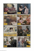 "Movie Posters:Crime, Taxi Driver (Columbia, 1976). Lobby Card Set of 8 (11"" X 14""). ""). These are vintage, theater-used lobby cards for this crim..."