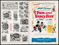 "Movie Posters:Animation, Fun and Fancy Free (RKO, 1947). Uncut Pressbook (20 Pages, 11"" X17""). Animation.. ..."