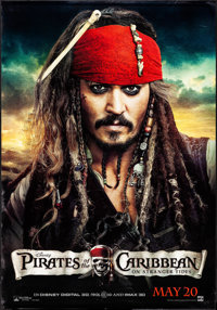 """Pirates of the Caribbean: On Stranger Tides (Walt Disney Pictures, 2011). Bus Shelters (2) (47.5"""" X 68.5"""") DS..."""