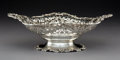 Silver Holloware, American:Bowls, A Graff, Washbourne & Dunn Silver Reticulated Two-HandledBasket, New York, circa 1910. Marks: STERLING, (logotype),S...