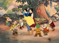 Animation Art:Limited Edition Cel, Snow White Limited Edition Cel #6/500 (Disney, 1987). ...