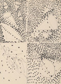 Works on Paper, Claire Falkenstein (American, 1908-1997). Sculpture Study. Ink on paper. 11 x 8 inches (27.9 x 20.3 cm) (sheet). PROPE...