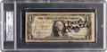 Baseball Collectibles:Others, 1930's-80's Babe Ruth, George Weiss & Mickey Mantle Signed Dollar Bill, PSA/DNA NM+ 7.5....