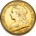 Timepieces:Pocket (post 1900), Vacheron & Constantin Rare Queen Victoria Sovereign Gold Coin Watch. ...