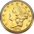 Timepieces:Pocket (post 1900), LeCoultre 1874 Liberty $20 Gold Coin Watch. ...