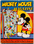 Platinum Age (1897-1937):Miscellaneous, Mickey Mouse Magazine #1 (K. K. Publications/Western PublishingCo., 1935) Condition: FR....
