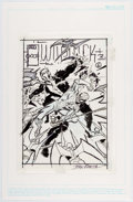 Original Comic Art:Miscellaneous, John Romita - Unused Preliminary Cover Design (undated)....
