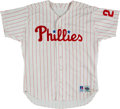 Baseball Collectibles:Uniforms, 1992-93 John Kruk Game Worn Philadelphia Phillies Jersey. ...