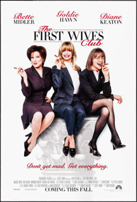 """The First Wives Club & Other Lot (Paramount, 1996). Rolled, Very Fine. One Sheets (4) (27"""" X 40"""" &..."""