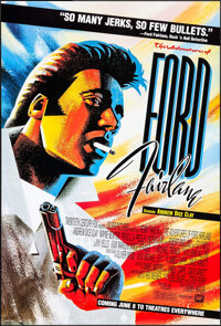 """The Adventures of Ford Fairlane (20th Century Fox, 1990). One Sheets (2) (27"""" X 40"""") DS Advance and Regular St..."""