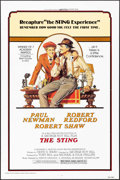 "Movie Posters:Crime, The Sting (Universal, R-1977). One Sheet (27"" X 41"") Richard AmselArtwork. Crime.. ..."