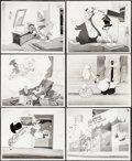 """Movie Posters:Animation, Woody Woodpecker Lot (Universal, 1948). Photos (10) (8"""" X 10""""). Animation.. ... (Total: 10 Items)"""