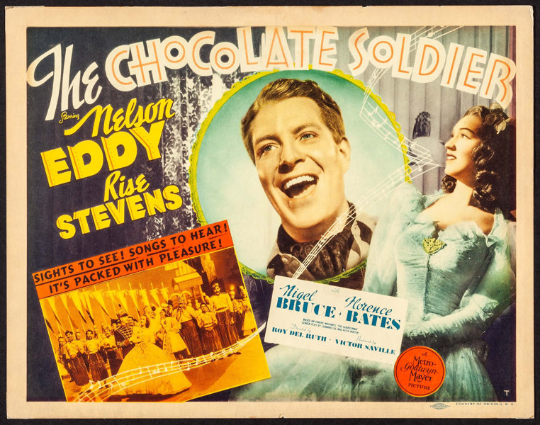 Image result for the chocolate soldier 1941 poster