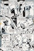 Original Comic Art:Panel Pages, Jim Starlin and Chic Stone Captain Marvel #25 Story Page 5Original Art (Marvel, 1973)....