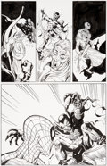 Original Comic Art:Panel Pages, Luke Ross and Al Milgrom The Spectacular Spider-Man #263Story Page 2 Original Art (Marvel, ...