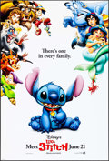 """Movie Posters:Animation, Lilo & Stitch & Others Lot (Buena Vista, 2002). One Sheets (3) (27"""" X 40"""") DS Advance. Animation.. ... (Total: 3 Items)"""