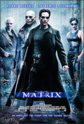 """Movie Posters:Science Fiction, The Matrix (Warner Brothers, 1999). One Sheet (27"""" X 40"""") DSAdvance. Science Fiction.. ..."""
