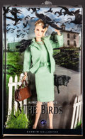 "Movie Posters:Hitchcock, Tippi Hedren in The Birds (Mattel Inc., 2008). Black Label Collection Barbie (Approximately 4"" X 12"") in Original Packaging ..."