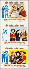 "Movie Posters:Comedy, Son of Paleface (Paramount, 1952). Lobby Cards (3) (11"" X 14""). Comedy.. ... (Total: 3 Items)"