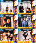 """Movie Posters:James Bond, The World is Not Enough (MGM, 1999). International Lobby Card Set of 12 (11"""" X 14""""). James Bond.. ... (Total: 12 Item)"""