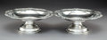 Silver & Vertu:Hollowware, A Pair of Paul Storr George III Silver Footed Compotes, London, 1809. Marks: (lion passant), (crowned leopard), (duty mark),... (Total: 2 )