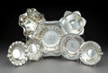 Silver Holloware, American:Bowls, A Group of Seven American Silver Table Items, 20th century. Marks:(various). 2-3/8 x 9-3/8 inches (6.0 x 23.8 cm) (largest ...(Total: 7 Items)