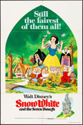 "Movie Posters:Animation, Snow White and the Seven Dwarfs & Other Lot (Buena Vista,R-1975). One Sheets (2) (27"" X 41""). Animation.. ... (Total: 2Items)"