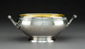 Silver Holloware, American:Bowls, A Tiffany & Co. Neoclassical Partial Gilt Silver Waste Bowl,New York, circa 1860. Marks: TIFFANY & CO, QUALITY 925-1000,...