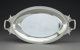 A Gorham Mfg. Co. Silver Two-Handled Vegetable Serving Dish, Providence, Rhode Island, 1872 Marks: 165, (lion-anchor-G)...