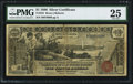 Large Size:Silver Certificates, Fr. 225 $1 1896 Silver Certificate PMG Very Fine 25.. ...