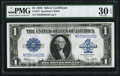 Large Size:Silver Certificates, Fr. 237 $1 1923 Silver Certificate PMG Very Fine 30 EPQ.. ...
