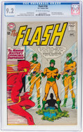 Silver Age (1956-1969):Superhero, The Flash #136 (DC, 1963) CGC NM- 9.2 Off-white to white pages....