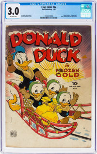 Four Color #62 Donald Duck (Dell, 1945) CGC GD/VG 3.0 Off-white pages