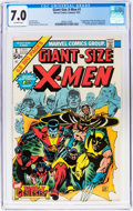 Bronze Age (1970-1979):Superhero, Giant-Size X-Men #1 (Marvel, 1975) CGC FN/VF 7.0 Off-whitepages....