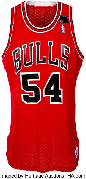 420aeba1bba 1991-92 Horace Grant Game Worn   Signed Chicago Bulls