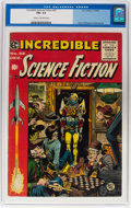 Golden Age (1938-1955):Science Fiction, Incredible Science Fiction #32 (EC, 1955) CGC FN+ 6.5 Cream to off-white pages....