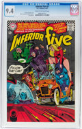 Silver Age (1956-1969):Superhero, The Inferior Five #1 (DC, 1967) CGC NM 9.4 Cream to off-whitepages....