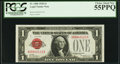 Small Size:Legal Tender Notes, Fr. 1500 $1 1928 Legal Tender Note. PCGS Choice About New 55PPQ.. ...