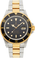 Timepieces:Wristwatch, Rolex Ref. 16613 Two Tone Oyster Perpetual Submariner, circa 1987. ...
