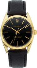 Timepieces:Wristwatch, Rolex, Oyster Perpetual, Ref. 1024, Gold Shell Over Stainless Steel, Circa 1966. ...