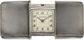 Timepieces:Other , Movado Fine Silver Purse Watch. ...