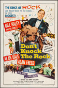 """Movie Posters:Rock and Roll, Don't Knock the Rock (Columbia, 1957). Folded, Very Fine-. One Sheet (27"""" X 41""""). Rock and Roll.. ..."""