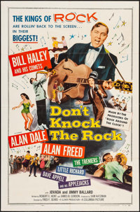 "Don't Knock the Rock (Columbia, 1957). Folded, Very Fine-. One Sheet (27"" X 41""). Rock and Roll"