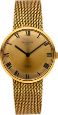 Timepieces:Wristwatch, Patek Philippe Ref. 3468 Gold IOS Presentation Watch, circa 1965....