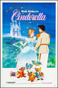 "Movie Posters:Animation, Cinderella & Other Lot (Buena Vista, R-1981). One Sheets (2) (26"" X 40"" & 27"" X 41""). Animation.. ... (Total: 2 Items)"