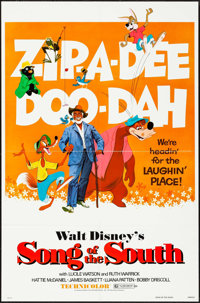 """Song of the South & Other Lot (Buena Vista, R-1980). One Sheets (2) (27"""" X 41""""). Animation. ... (Total: 2..."""