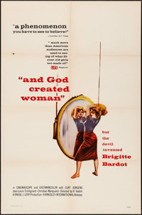 "And God Created Woman (Kingsley International, 1956). Folded, Fine/Very Fine. One Sheet (27"" X 41""). Foreign..."