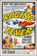 "Movie Posters:Sports, Racing Fever (Allied Artists, 1964). Folded, Very Fine+. One Sheet (27"" X 41""). Sports.. ..."