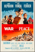 """Movie Posters:Drama, War and Peace (Paramount, 1956). One Sheet (27"""" X 41""""). Drama.. ..."""