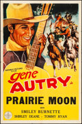 "Movie Posters:Western, Prairie Moon (Republic, R-1940s). Stock One Sheet (27"" X 41""). Western.. ..."